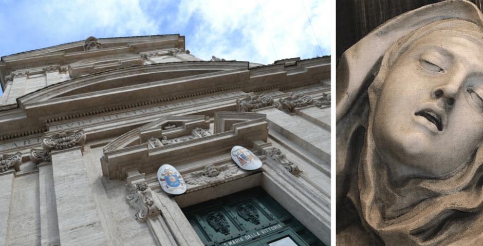 Êxtase de Santa Tereza, escultura de Bernini em Roma
