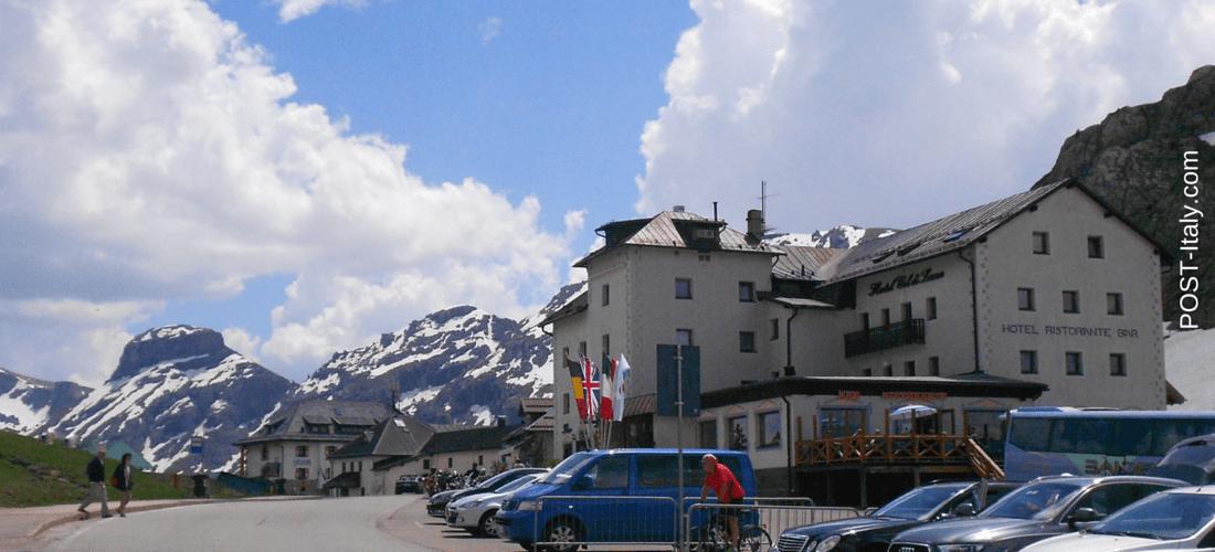 Sass Pordoi: terraço das Dolomitas