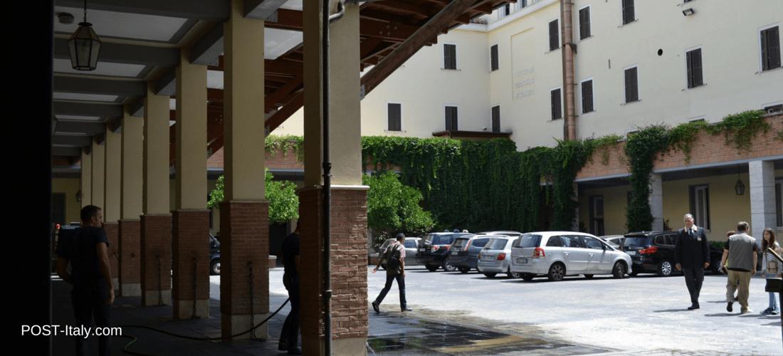 sede do reggimento Corazzieri em Roma