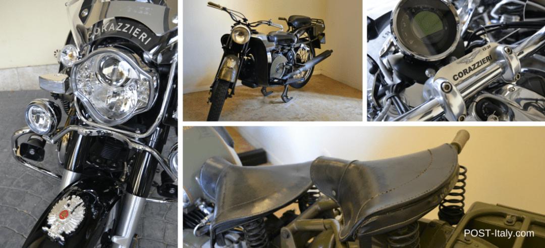 motos dos Corazzieri, Carabinieri em Roma