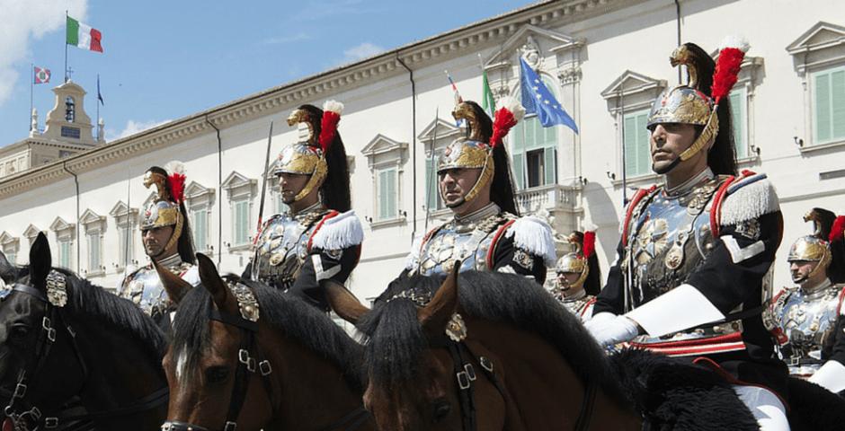 corazzieri em Roma