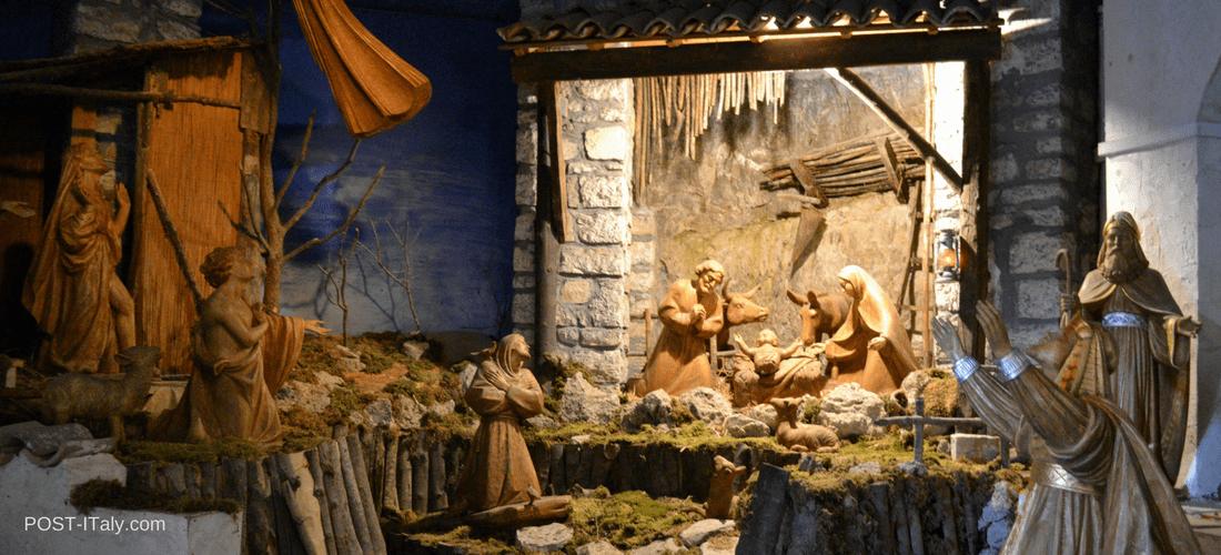 Greccio, cidade do primeiro presépio de São Francisco