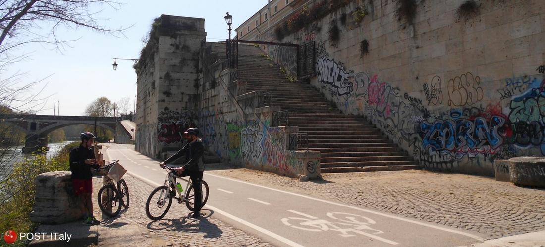 ciclovia em Roma
