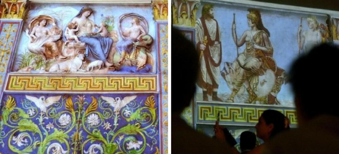 Viagem na história romana: o Altar da Paz com a realidade aumentada