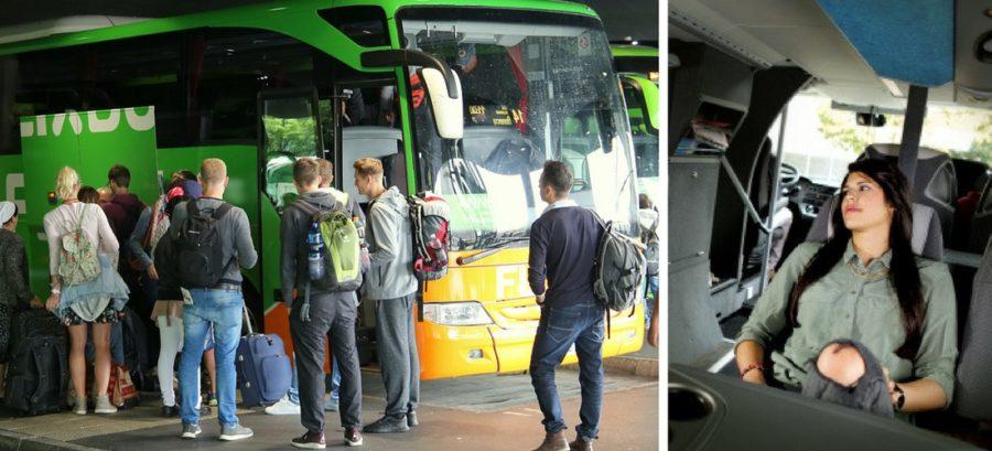 Europa de ônibus