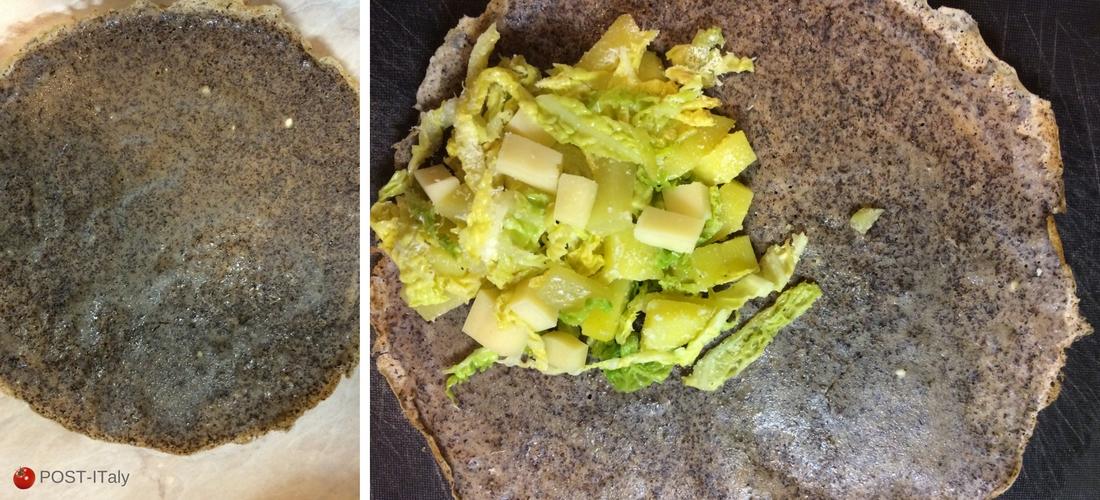 receita italiana: crespelle de trigo-sarraceno