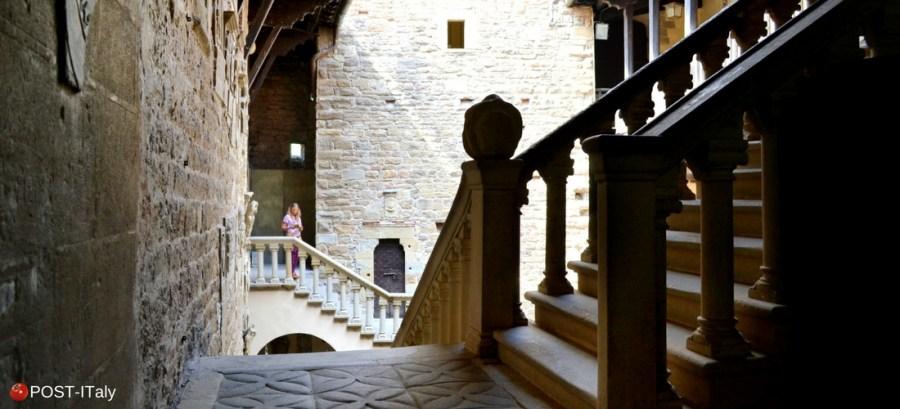 castelo de Poppi, Arezzo, Toscana, Itália
