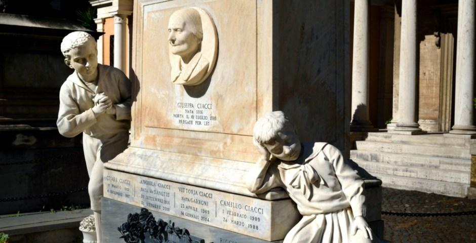 cemitério na itália