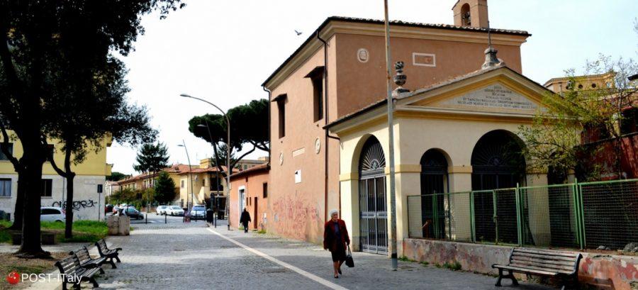 bairro Garbatella em Roma