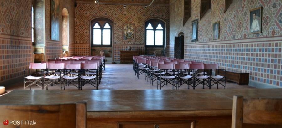 Toscana, Arezzo, castelo de Poppi