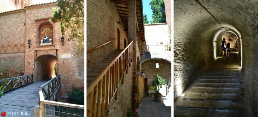 Toscana, Abadia de Monte Oliveto Maggiore