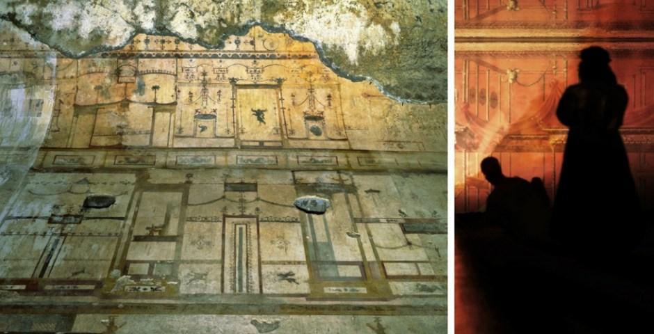 Casa Dourada de Nero em Roma