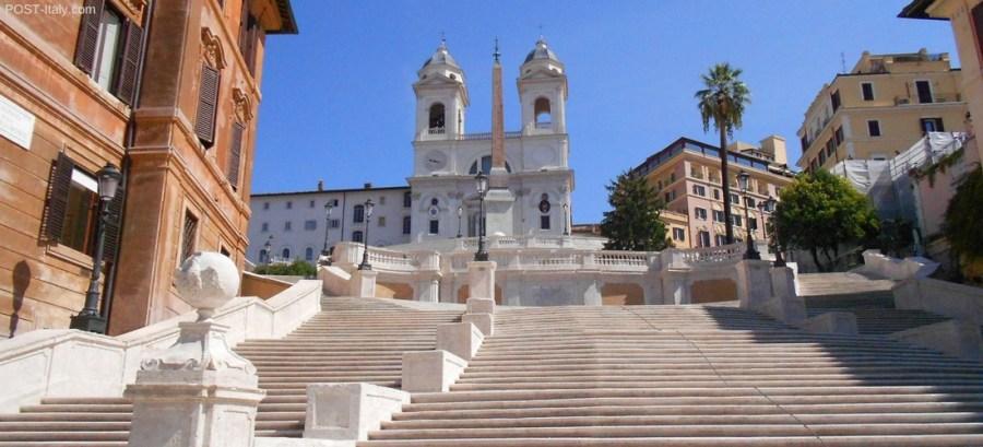 Trinità dei Monti em Roma, Itália