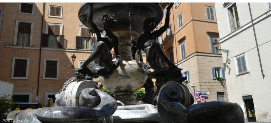Fonte das Tartarugas, Roma