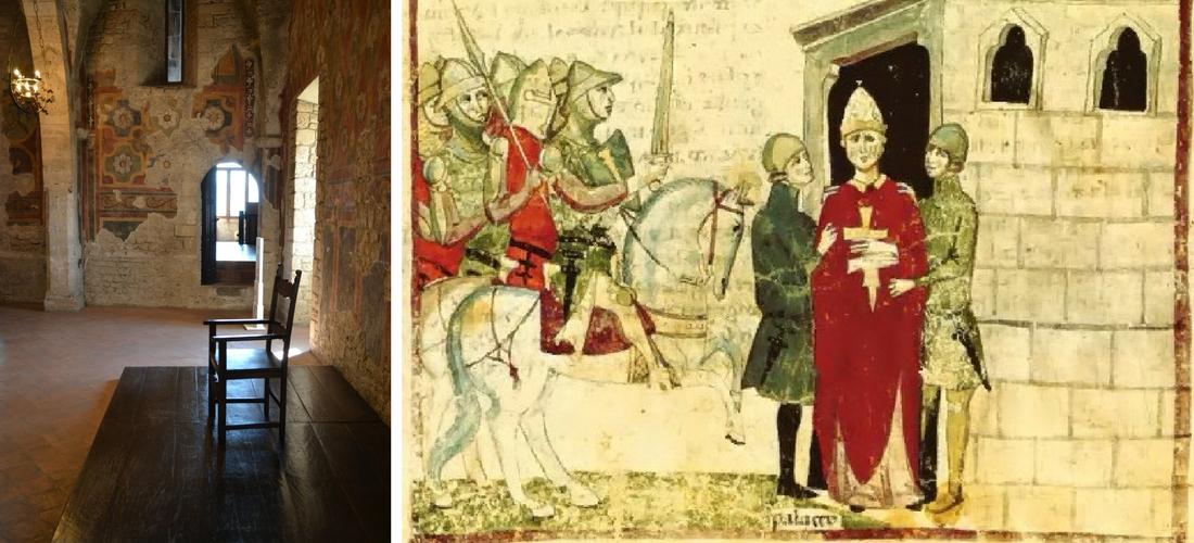 "Anagni, onde o Papa foi ""estapeado"""