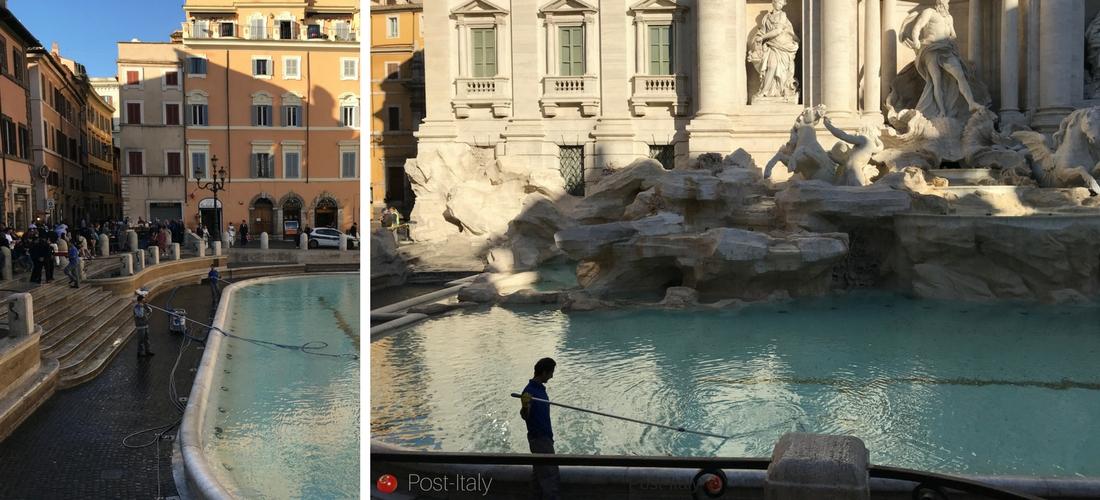 Para onde vão as moedas da Fontana di Trevi em Roma?