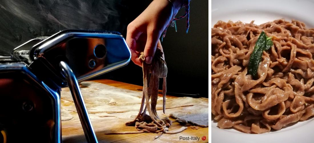 Tagliatelle al cacao, a receita de massa fresca italiana sinônimo de família