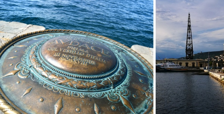 Molo Audace, Trieste, Itália