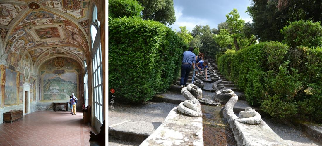 Villa Lante em Bagnaia, os jardins que superam o conceito de beleza