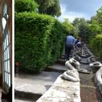 Jardins de Villa Lante em Bagnaia, Viterbo, Lácio