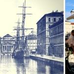 Canal Grande em Trieste, Itália