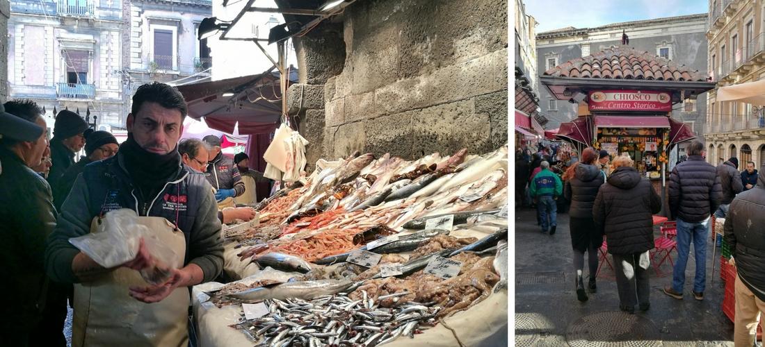 A Piscarìa, um passeio pelo mercado de peixes de Catânia
