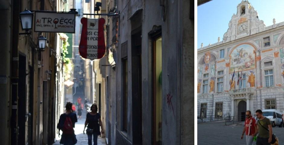 cidade de Gênova, Itália