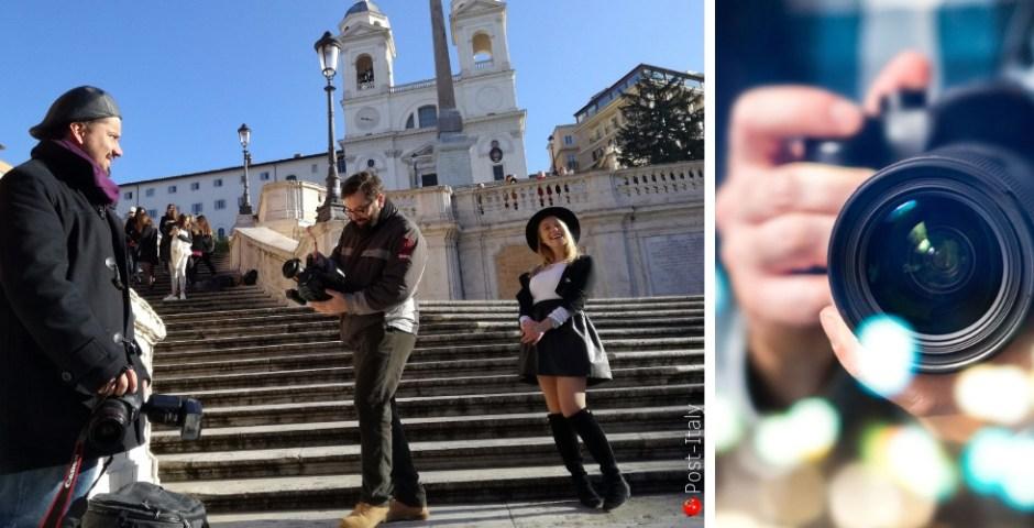 fotógrafo profissional em Roma