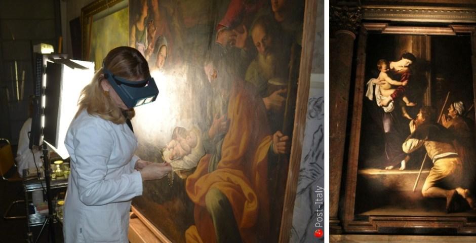 Caravaggio em Roma