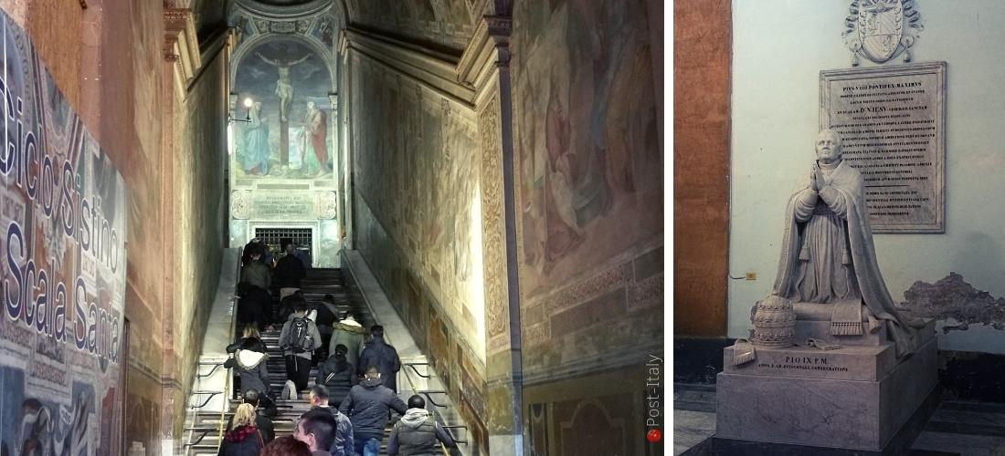Escada Santa em Roma é exposta ao público em seu estado original