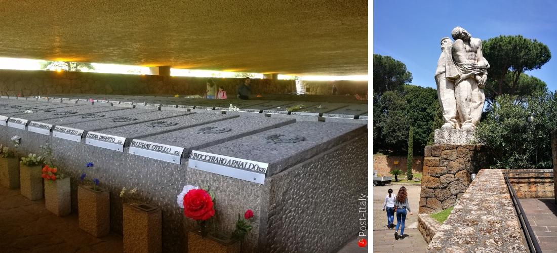 Em memória do massacre das Fossas Ardeatinas em Roma