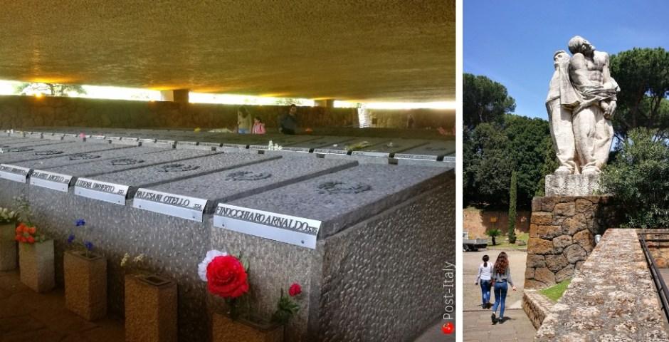 fossas ardeatinas em Roma