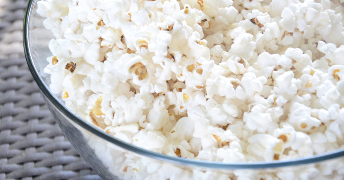 best popcorn for healthy snackers