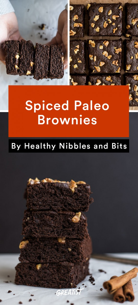 healthy nibbles and bits: Spiced Paleo Brownies