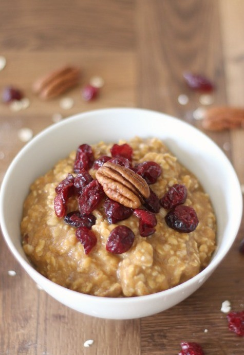 3. Pumpkin Pie Oatmeal