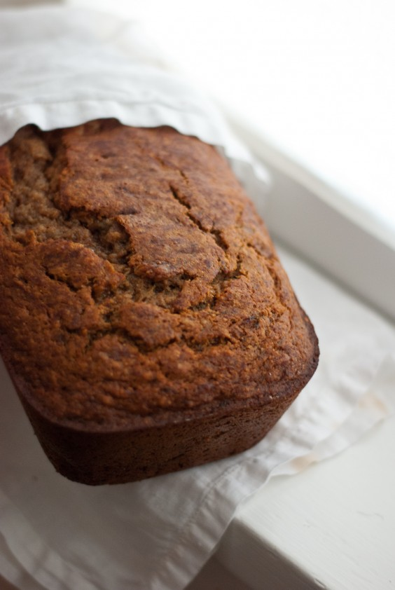 One Pot Meals: Honey Whole-Wheat Banana Bread