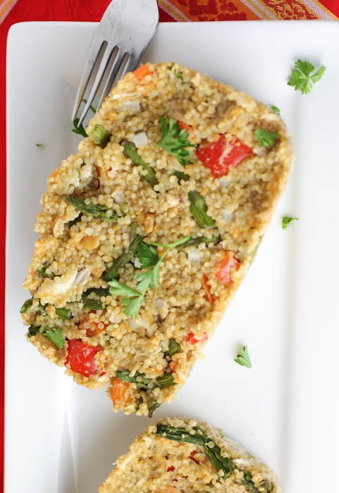 Quinoa Vegetable Loaf