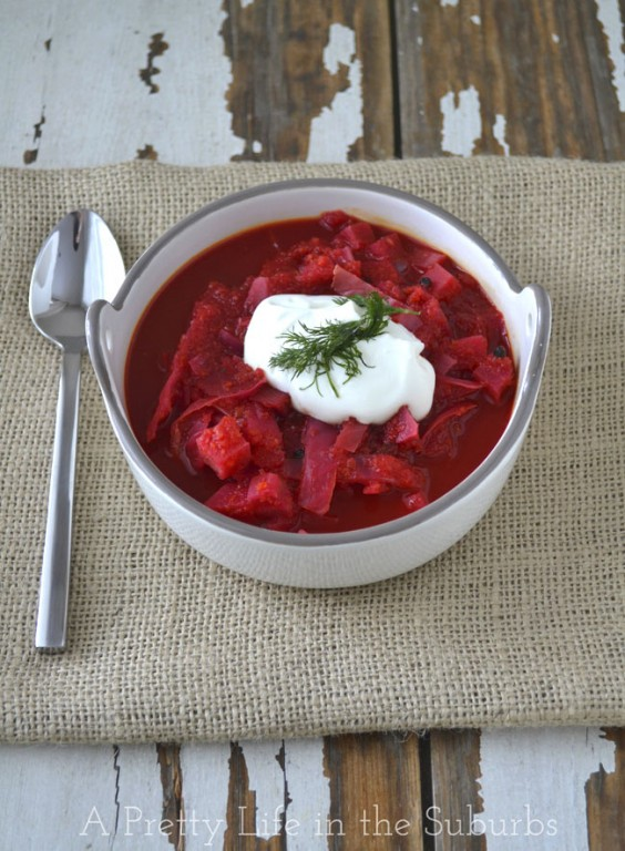 18. Easy Crock-Pot Borscht
