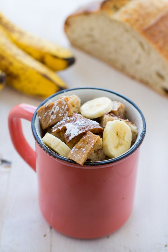 One Pot Meals: Vegan Banana Mug French Toast