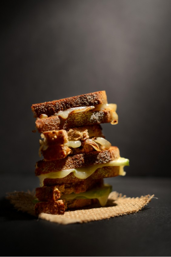 27. Sweet and Savory Grilled Cheese