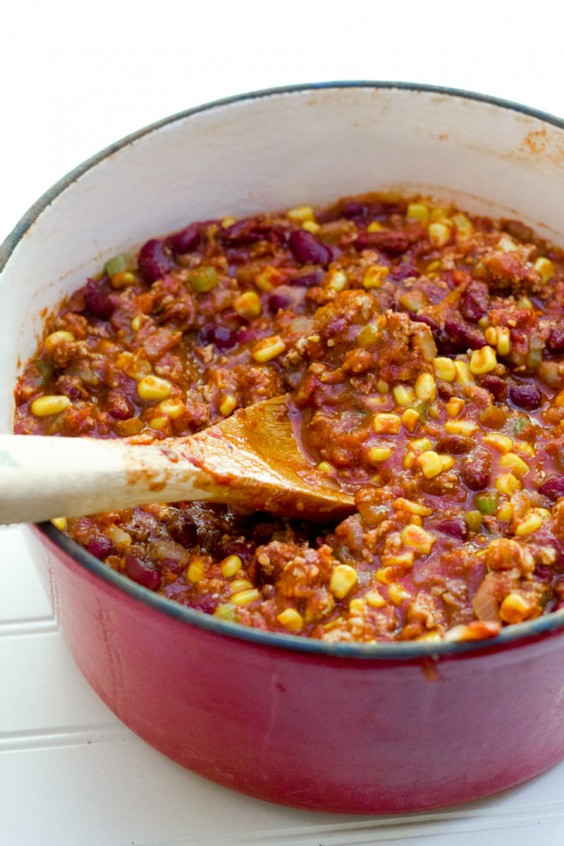 2. Turkey Taco Chili