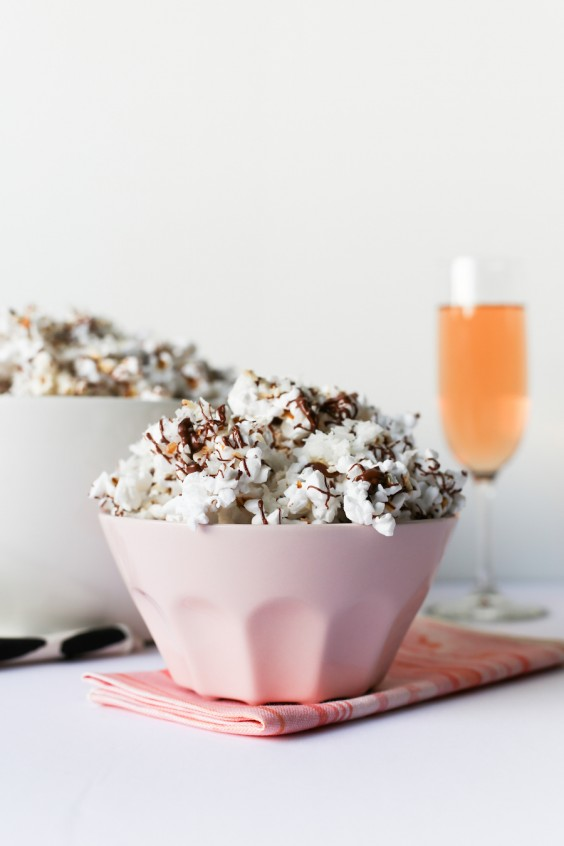 2. Chocolate and Coconut Popcorn