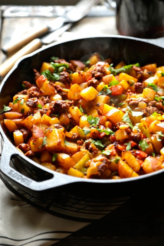 Healthy Breakfast Recipes: Cowboy Skillet Hash