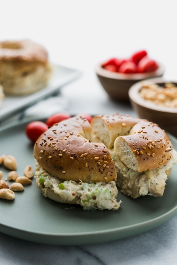 11. Toasted Tuna Everything Bagels