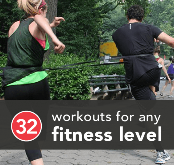 32 Workouts to Get Fit at Any Fitness Level