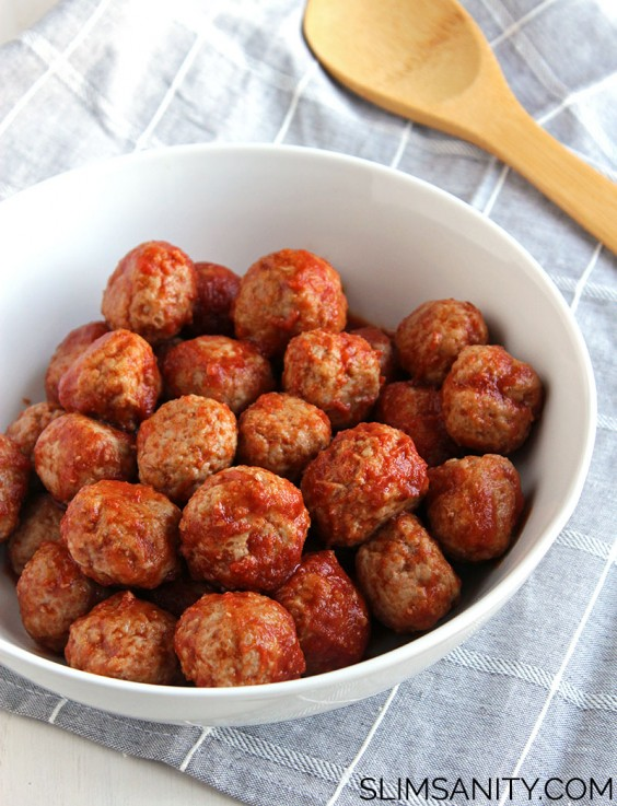 3. Tangy Turkey Meatballs
