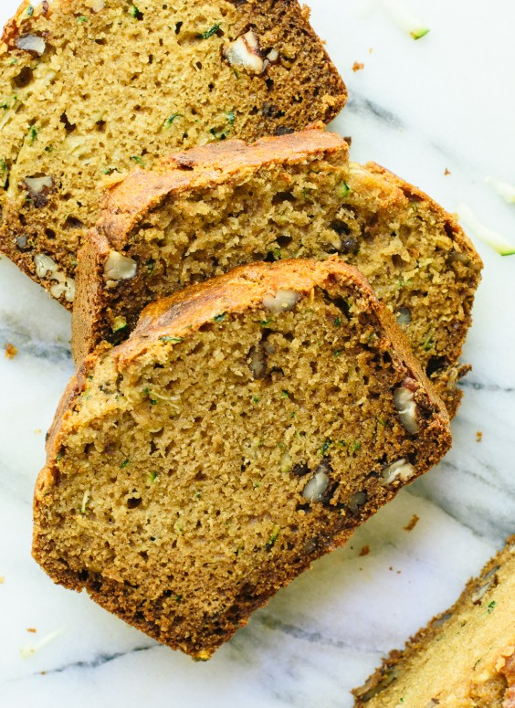 Walnut and Honey Zucchini Bread
