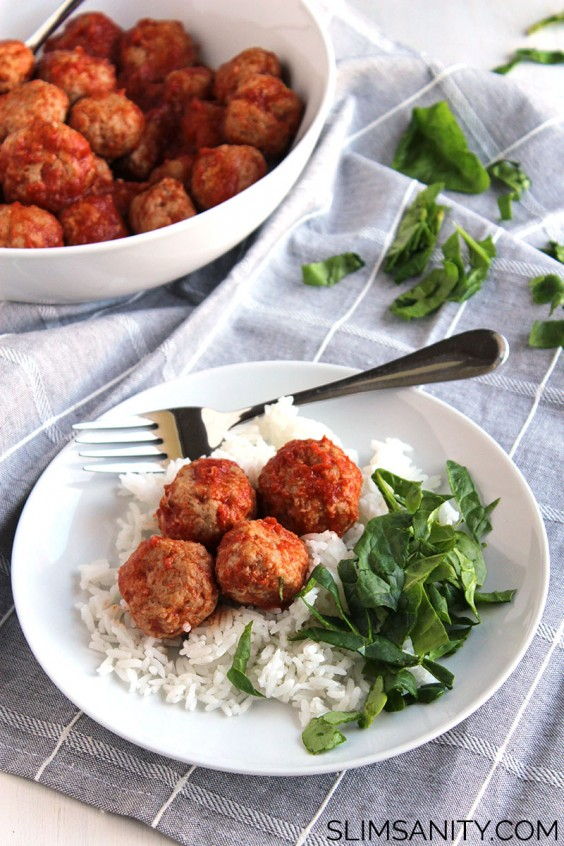 4. Tangy Crock-Pot Turkey Meatballs