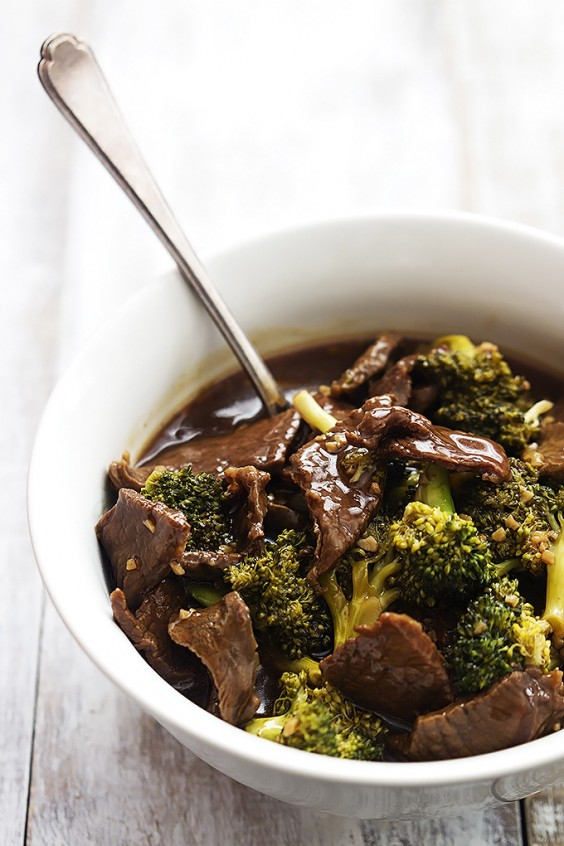 4. Slow Cooker Broccoli Beef