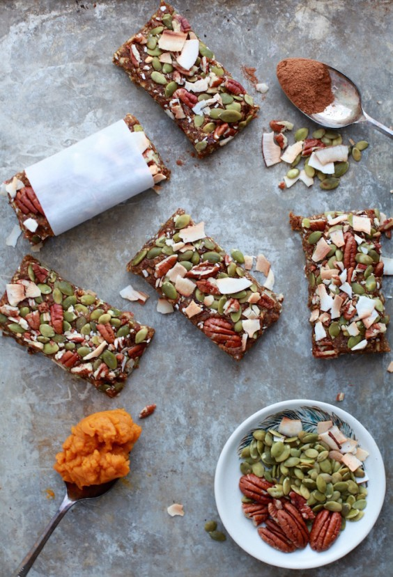 4. Vegan Pumpkin Pie Energy Bars